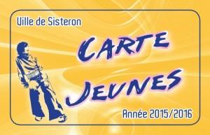 CARTE JEUNES 2016