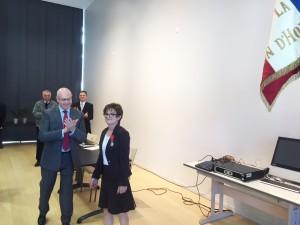 Légion d'Honneur Chantal REYNIER 1