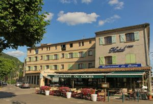 Hotel restaurant Le Cours