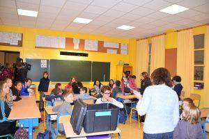 Exercice confinement Ecole de Verdun