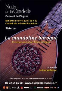 Concert de Pâques 2018 (Affiche Artemandoline)