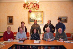 Les Maires de Melve, Sigoyer, Turriers, Clamensane et Sisteron avaient répondu à l'invitation