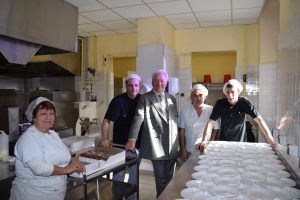 Les cuisiniers du Restaurant scolaire
