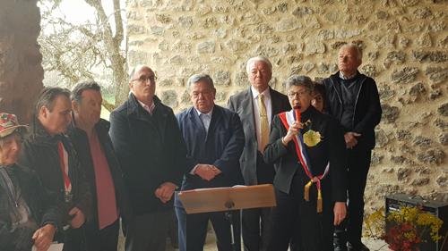 Inauguration Lavoir communal Saint Geniez (1)