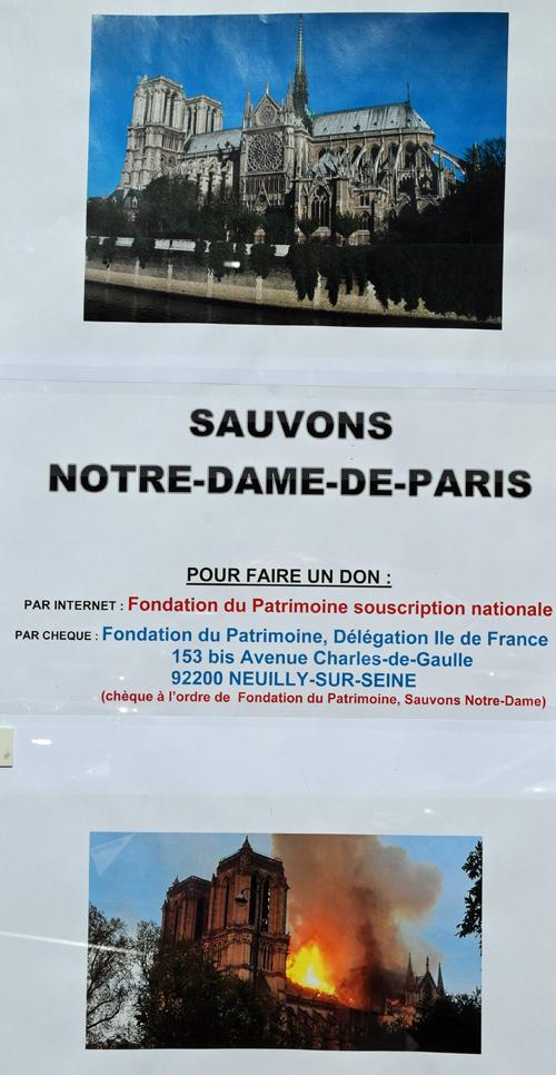 Souscription Notre Dame de Paris