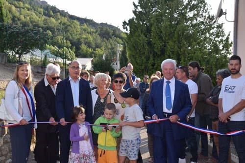 Inauguration Hameau de Rousset à Curbans (12)