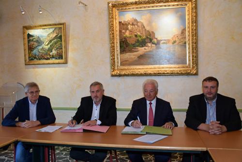 Signature convention Ville Sisteron et ENEDIS