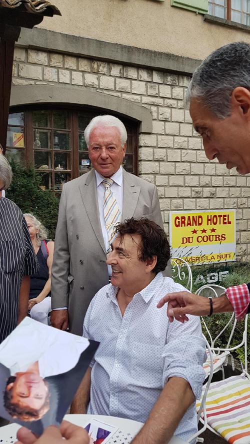 Dédicace Claude Barzotti Foire Expo