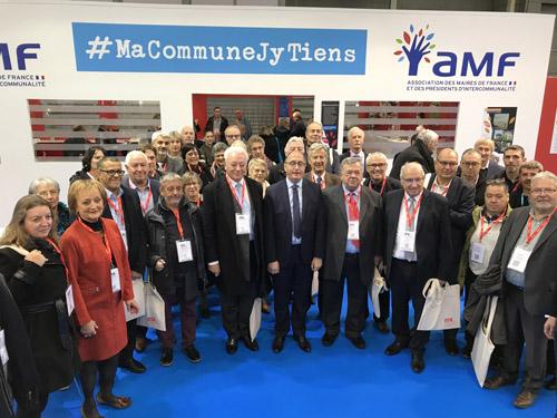 SITEDS Stand AMF Congrès des Maires Paris