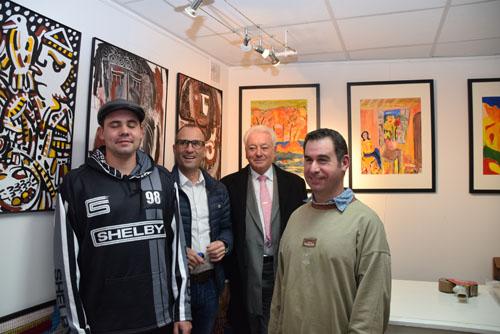 SITEDSVernissage expo Galerie Cécile et Colin