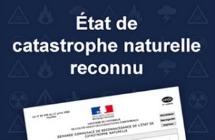 État catastrophe naturelle