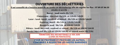 Photo Dechetterie site DS