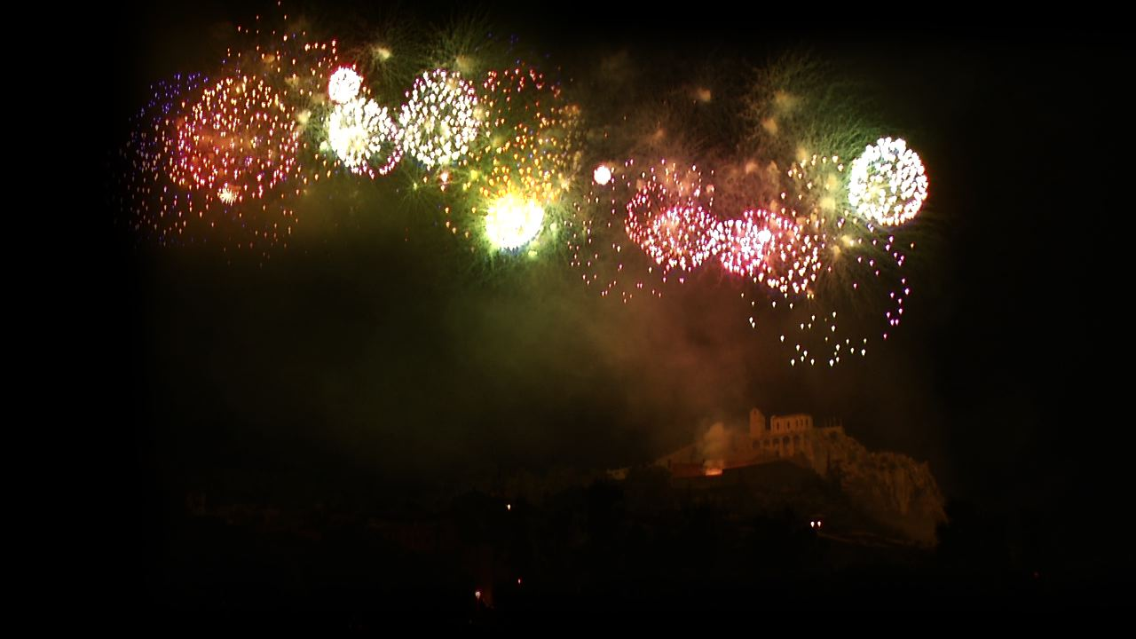 Feux d'artifice Sisteron