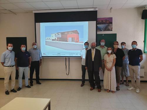 Maison de santé projet site