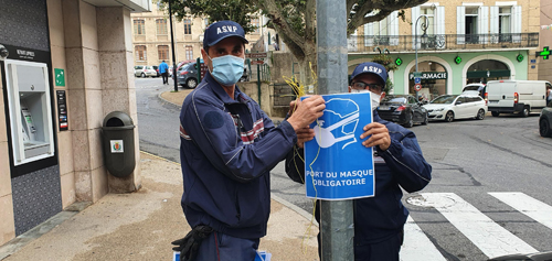 SITEDSPort du masque obligatoire Sisteron