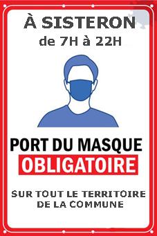 PortMasque Sisteron 8cm