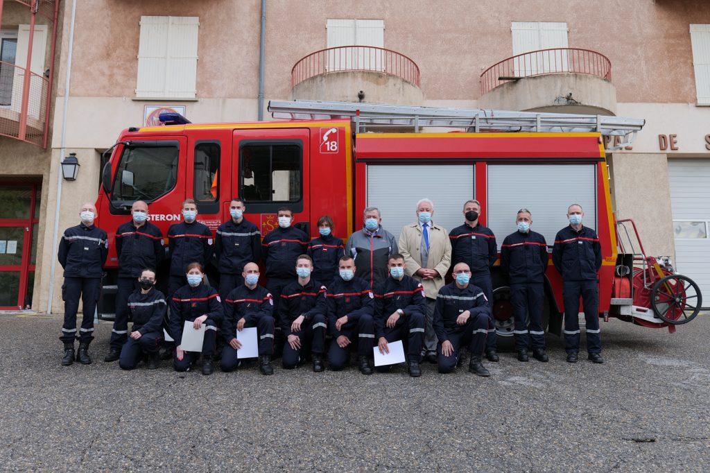 Diplômes Pompiers 2