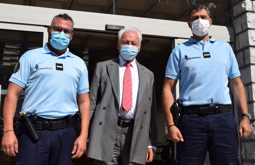 Arrivé Gendarmes